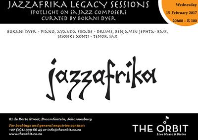 Jazzafrika Legacy Sessions